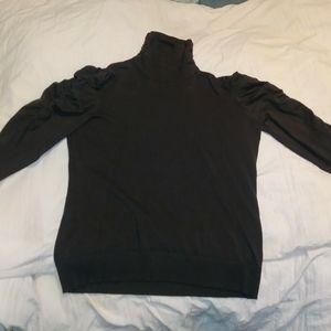 Joseph A fancy turtleneck sweater, Large EUC